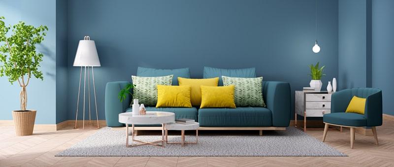 usar almofadas na decoração de sofás