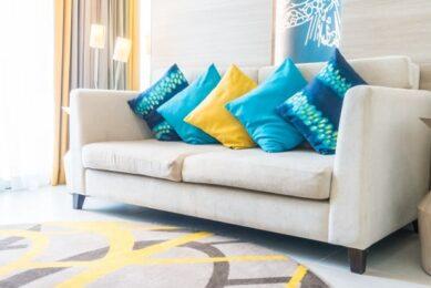 Usar almofadas na decoração