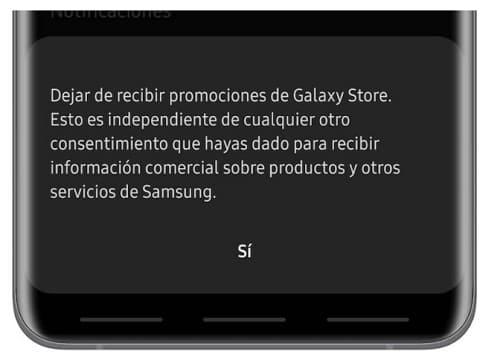reduzindo a publicidade Samsung em telefones Galaxy